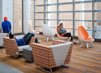KI is a company that best understands the contract furniture industry and is committed to providing customers with smart solutions.