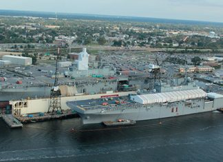 Norshipco is the largest private shipyard in South Hampton Roads, Virginia.