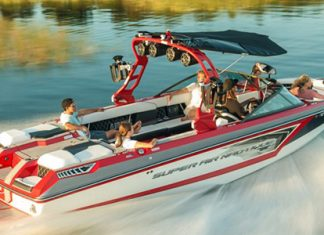 The company manufactures gas inboard engines for light agile applications like ski and wakeboard boats.