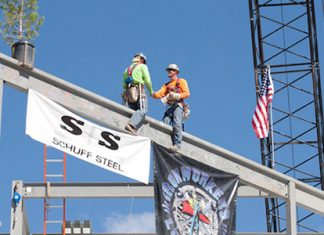 Schuff Steel makes structural steel products for bridges, casinos, office buildings, hospitals and industrial buildings.