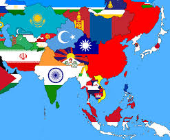 Map Of Asia Today.Map Of Asia Industry Today