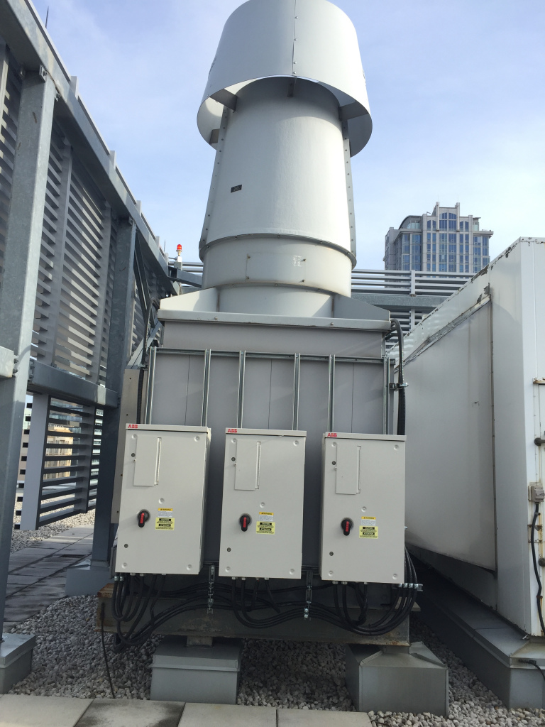 uhn exhaust fans with vfds
