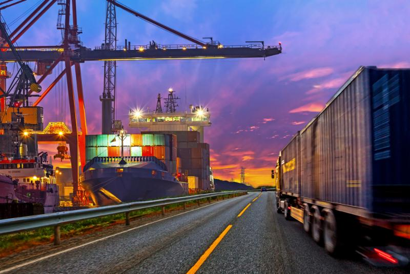 freight industry and amazon
