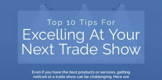tips for excelling at your next trade show