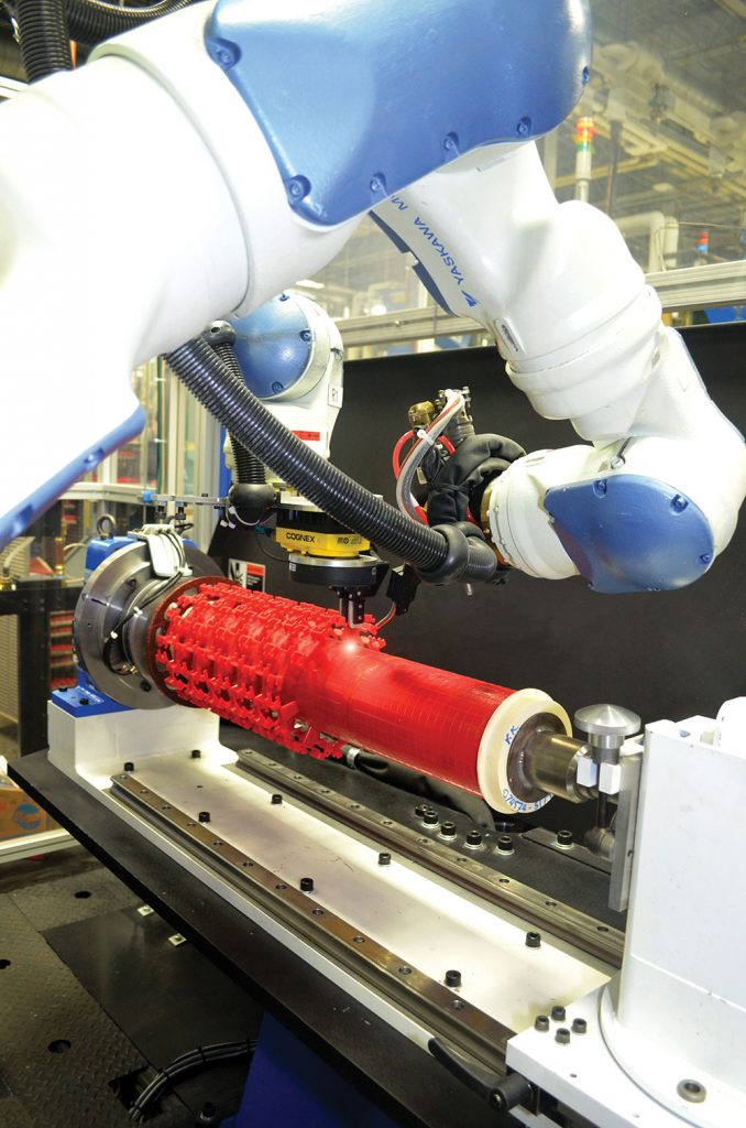 hitchiner manufacturing assembly robot