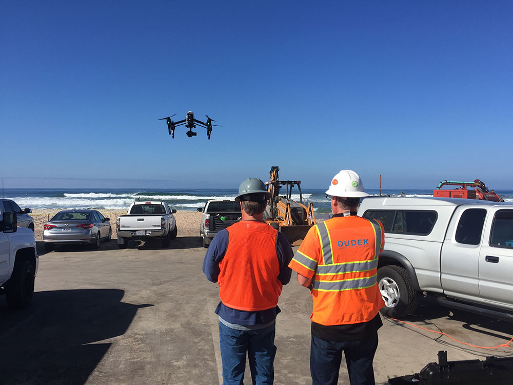 deploying drone real time data