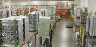 Standard Distributing temperature-controlled warehouse in New Castle, Delaware addressed the issues of cleanliness, safety and efficiency