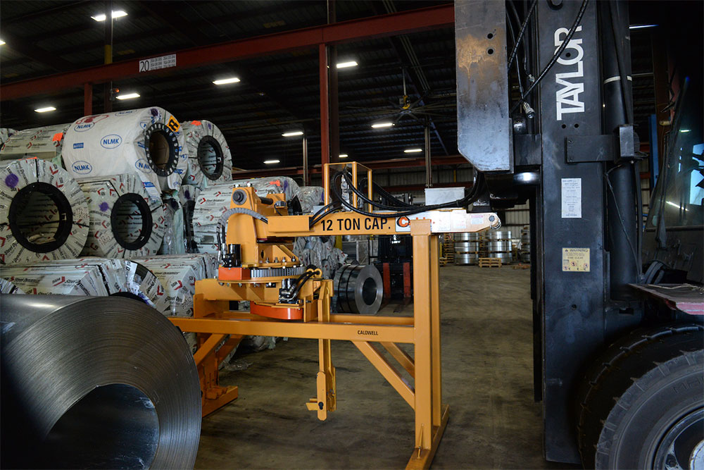 """Image result for Caldwell attachment for unloading rail cars at stamping plant"""""""