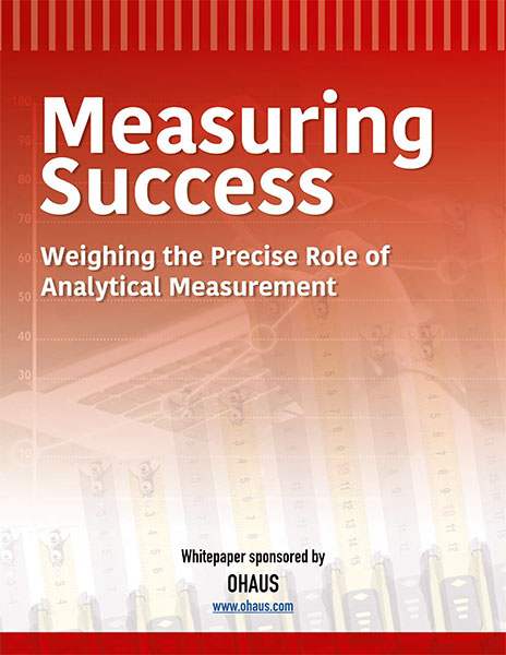 measuring success ohaus whitepaper
