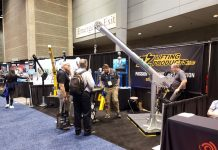 The new Tele-Pro davit cranes will be the focal point of Booth 7947 at MODEX show.