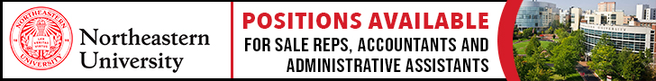 Part-time work from home available for Sales Reps, Accountants and Administrative Assistants as part of Northeastern University expansion.