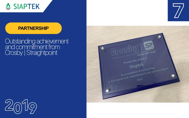 Each plaque was customised for the recipient.