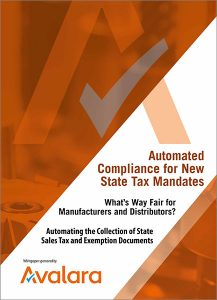avalara whitepaper automated compliance for new state tax mandates