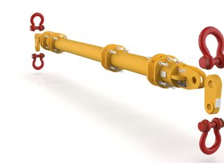 Each system will consist of a pair of end fittings and drop links, and two upper and lower shackles.