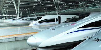 china us rail transportation