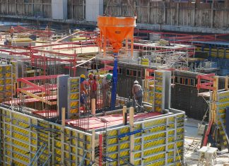 construction site project cost