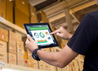 Leveraging a tablet for enhanced productivity.