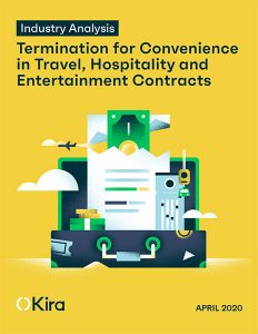 travel hospitality entertainment termination for convenience