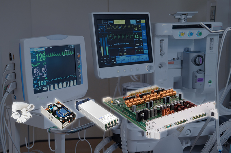 From external adapters to fully customized units, PRBX and COSEL provide power solutions for demanding medical applications.