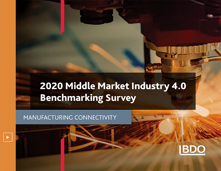 2020 middle market industry 4.0 survey