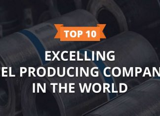 top excelling steel producing companies