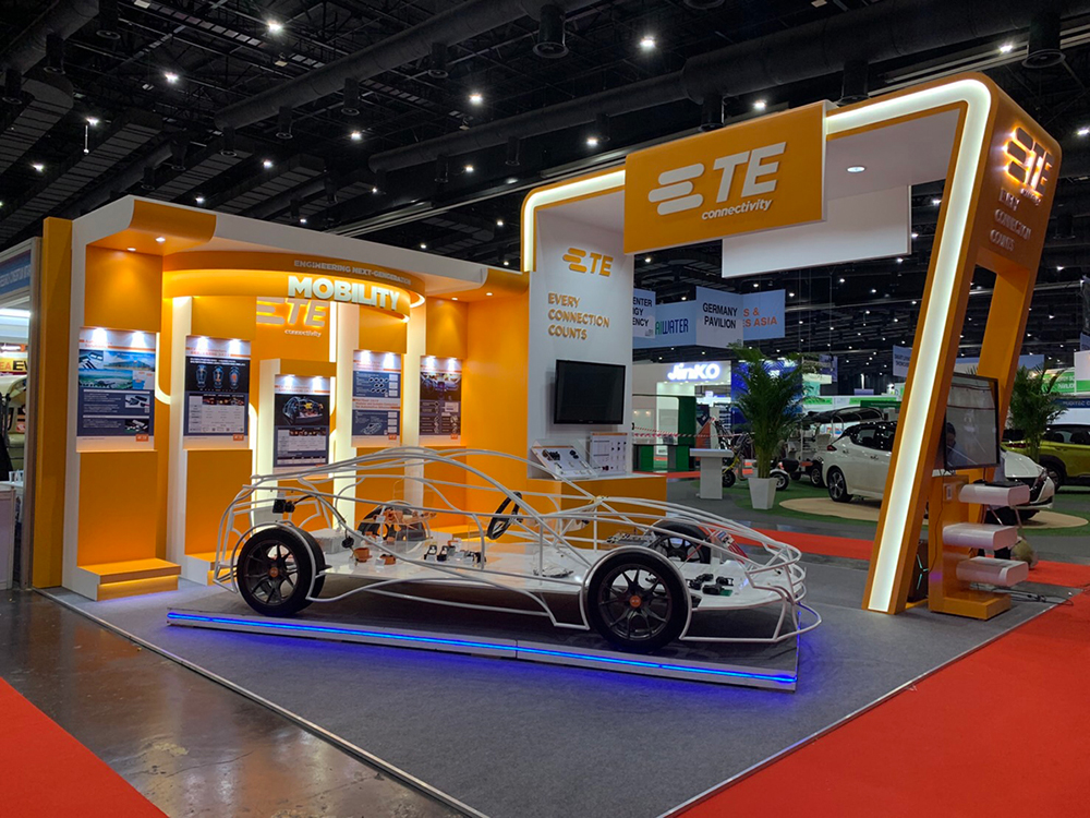 Electric Vehicle Exhibit at the 2019 Electric Vehicle Asia Tradeshow