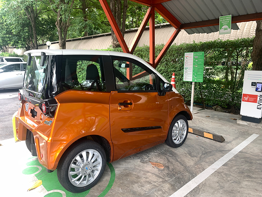 Thailand's Electric Vehicle Link Charging Station