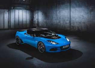 In the future, Lotus sports cars, such as the Evora, will be painted with painting robots from Dürr.