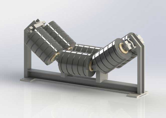 Bearing concept for conveyor belt rollers (Image source: NKE)
