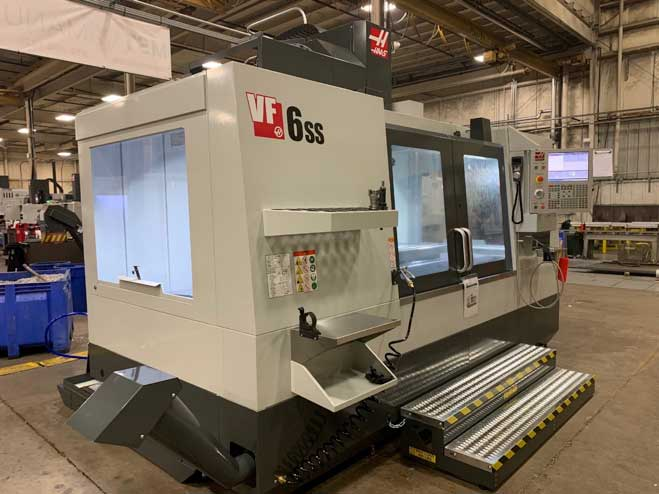 Haas VF-6 SS Vertical CNC Machining Center (SS is for Super Speed)