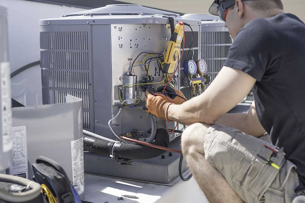 maintaining hvac heating and cooling systems