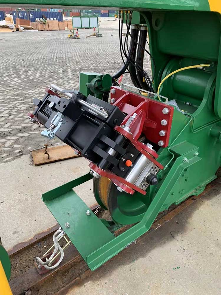 The BRBe brake is for cranes at ports, steel mills and other heavy duty applications.