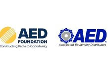 aed foundation assoc equip logos