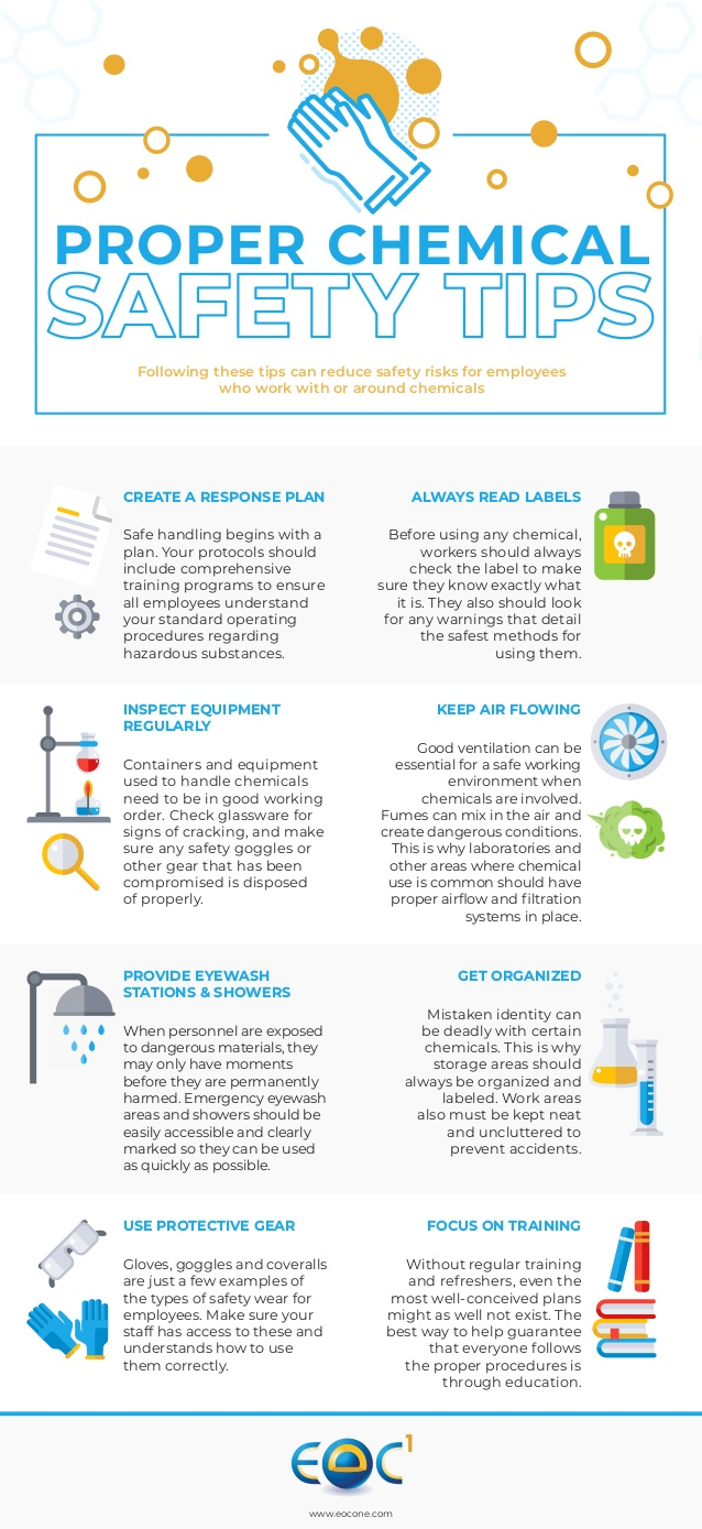 chemical safety tips