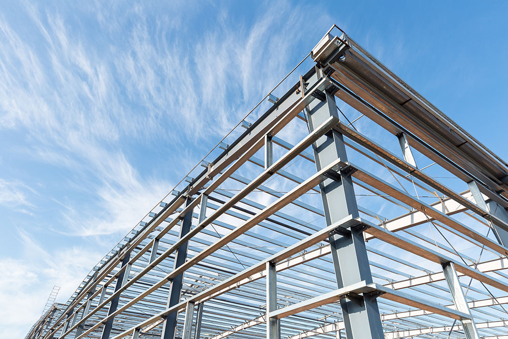 uses for steel construction