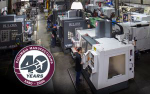columbia manufacturing 40th anniversary