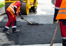 asphalt repair for road