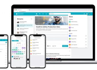 A mobile and web friendly workplace gives frontline workers the ability to easily access safety updates, training documents, instant messages, and shifts.