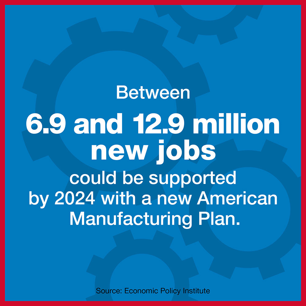 alliance for american manufacturing aam manufacturing plan