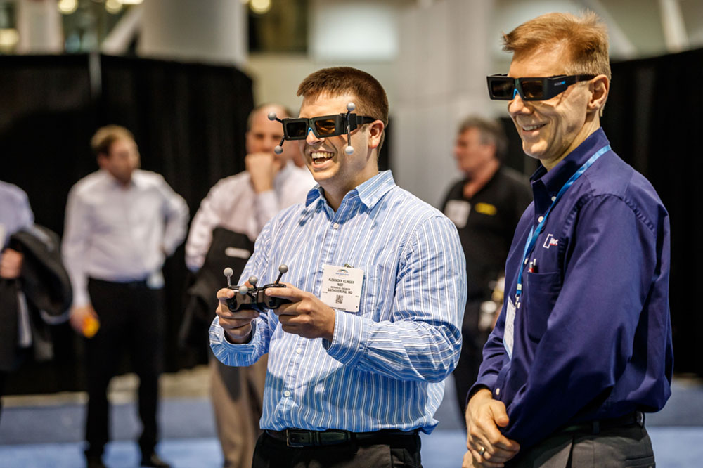 Augmented reality and virtual reality can be used for machine maintenance, product design, workforce training and manufacturing simulation.