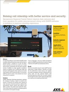 Raising rail ridership with better service and security case study