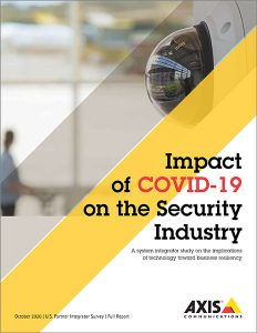 axis whitepaper impact of covid-19 on the security industry