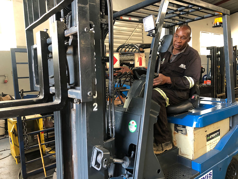 The global forklift repair and rental industry reports that business has picked up after the COVID induced slow down.