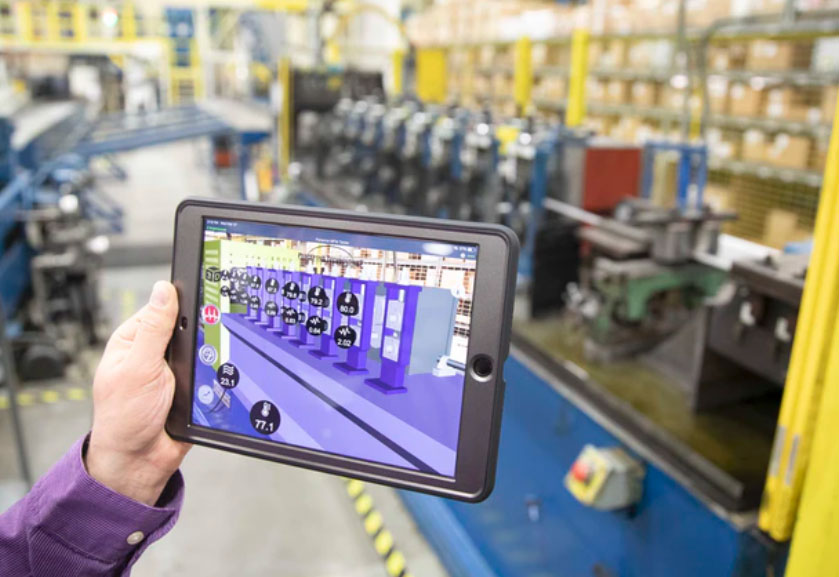 More manufacturers are implementing AR/VR on the plant floor for social distancing.