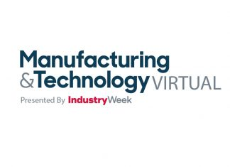 manufacturing & technology virtual logo