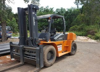 hiring forklift company