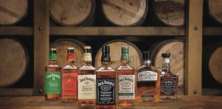 jack daniel's whiskey product shot