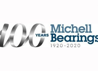 michell bearings 100 years logo