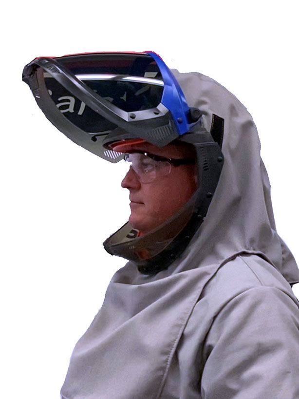 Lift-Front Hoods for Ultralight Series Arc Flash PPE