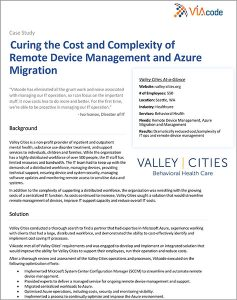 viacode valley cities it managed service case study